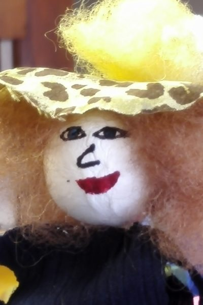 Marionnette Amarante -atelier