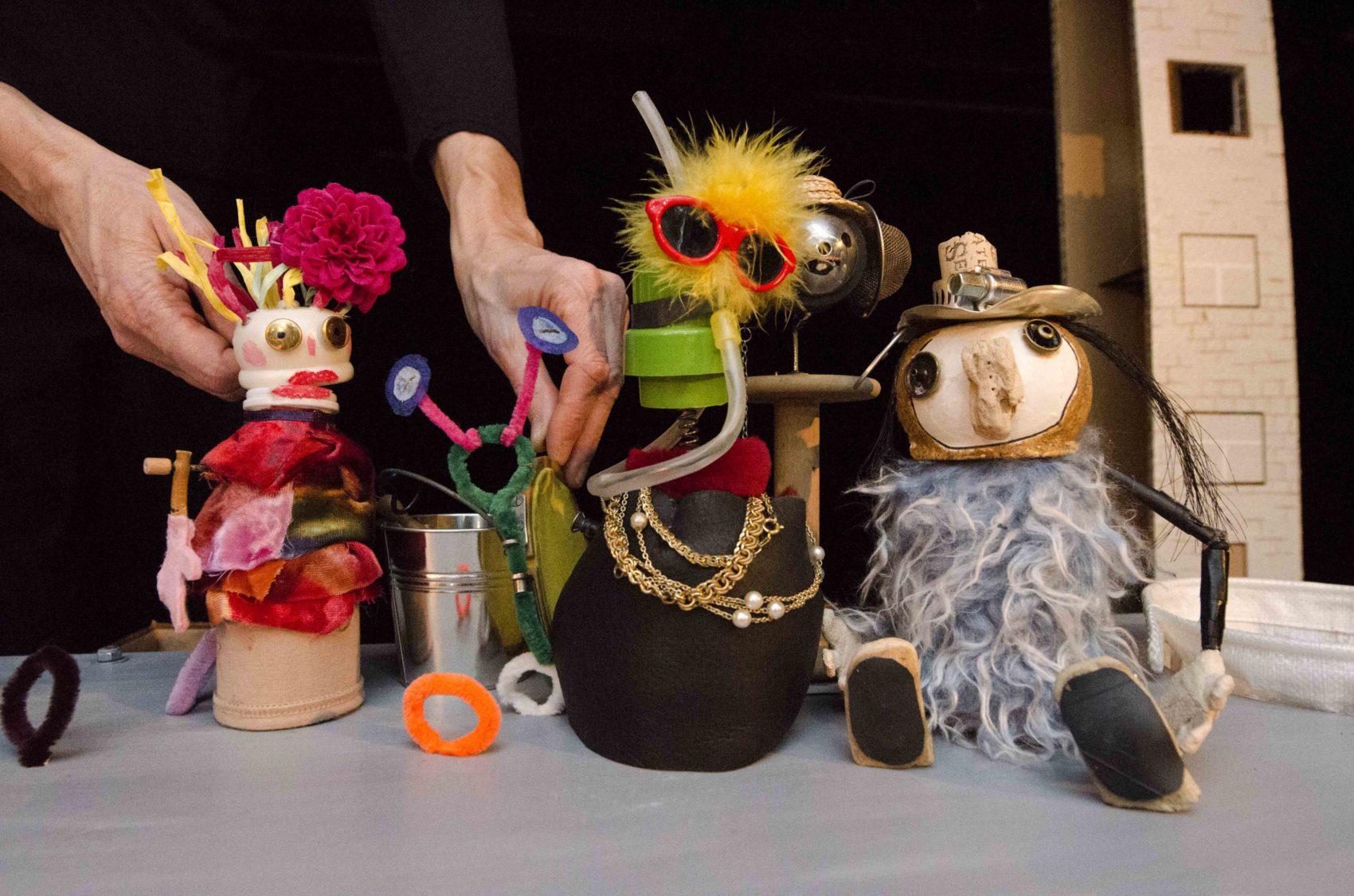 les marionnettes Amarante de Pascaline