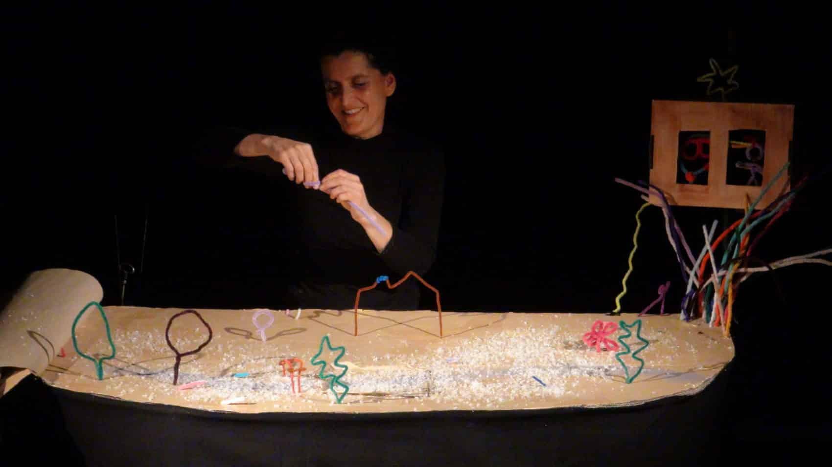 spectacle de marionnettes Amarante Fil d'histoires