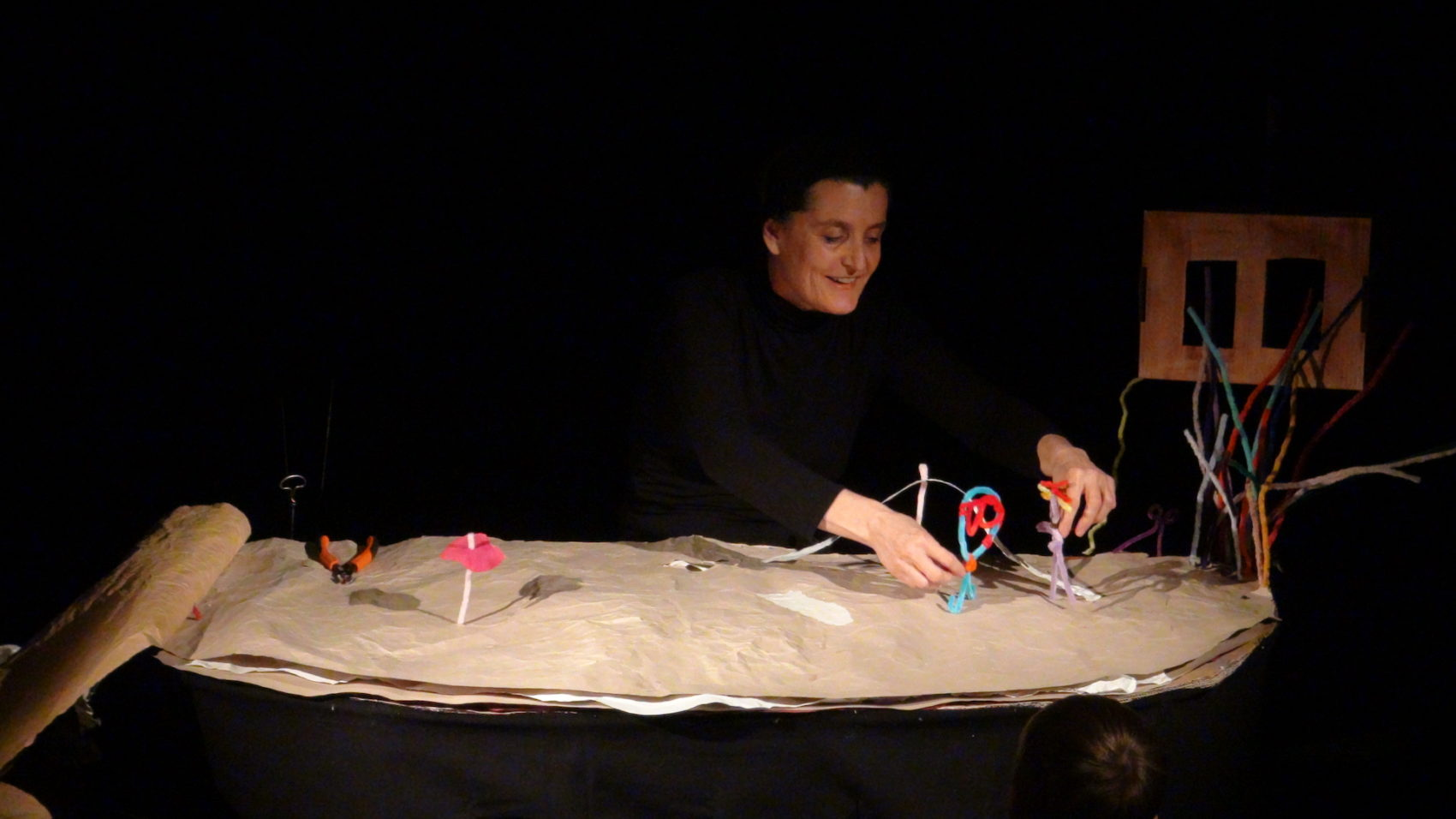 spectacle de marionnettes Amarante Fil d'Hisrtoires