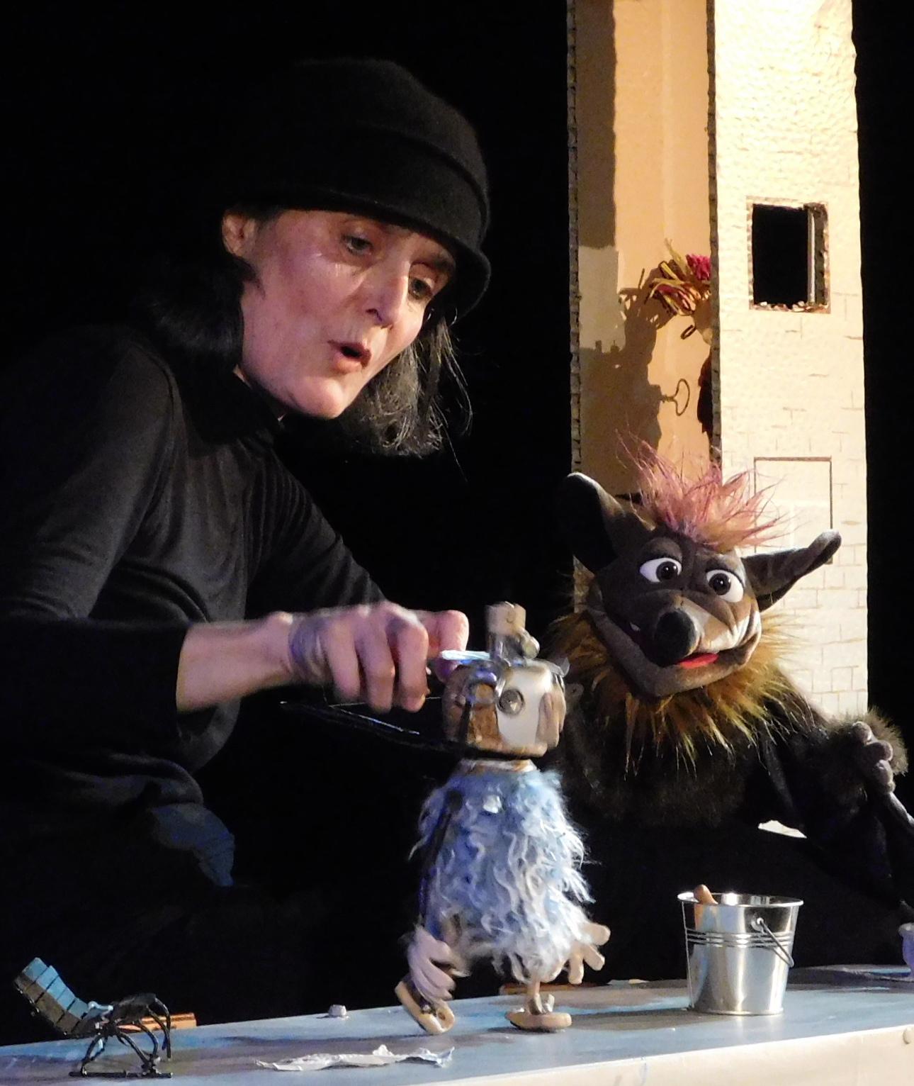 Marionnette Amarante Jackou le hibou