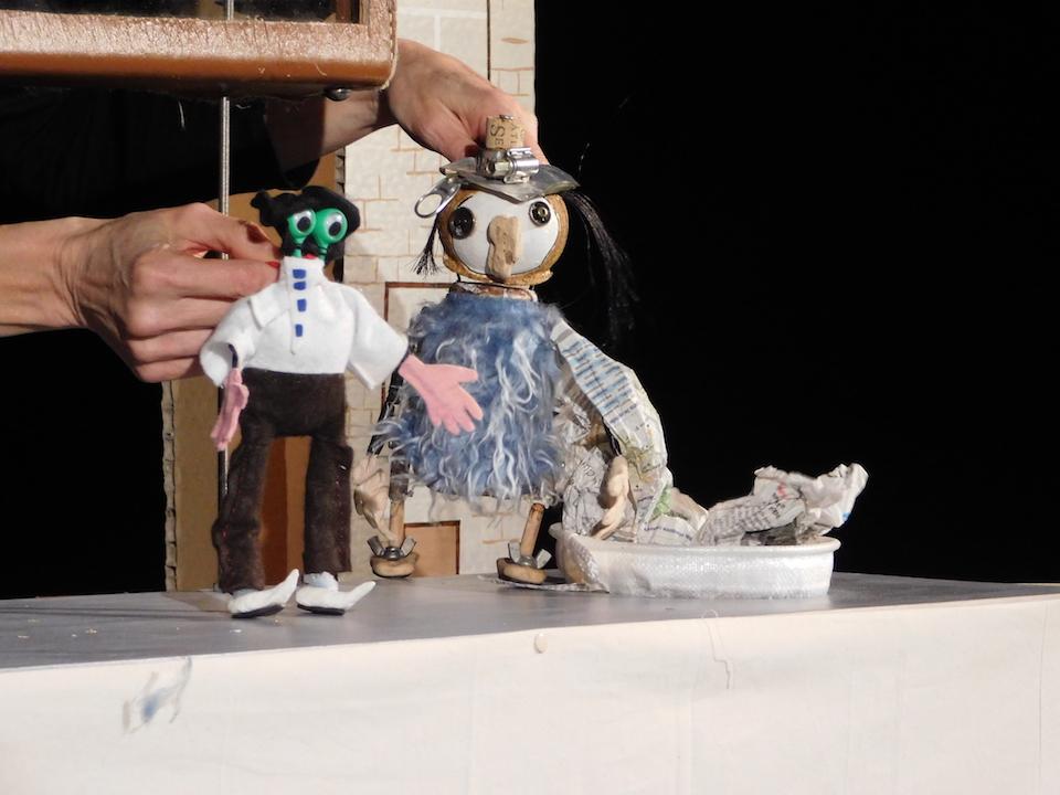 spectacle de marionnettes Jackou le Hibou