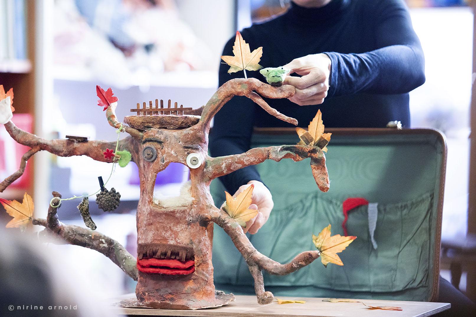 Spectacle-de-marionnettes-Amarante_Pimprenelle_papa-arbre